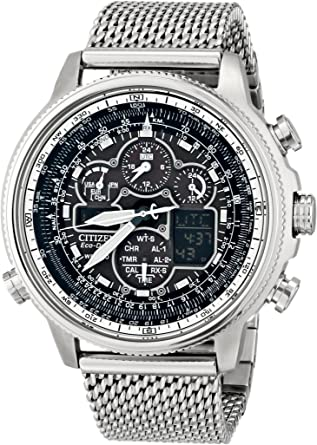 Amazon.com: Citizen Eco-Drive Men's JY8030-83E Navihawk A-T Analog .