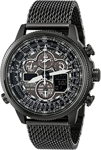 Amazon.com: Citizen Eco-Drive Men's JY8037-50E Navihawk A-T Watch .