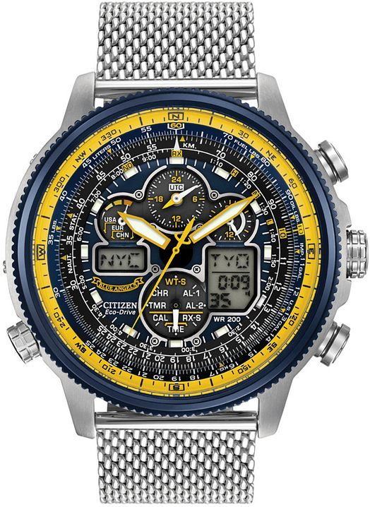 Men's Citizen Navihawk A-T Atomic Watch JY8031-5