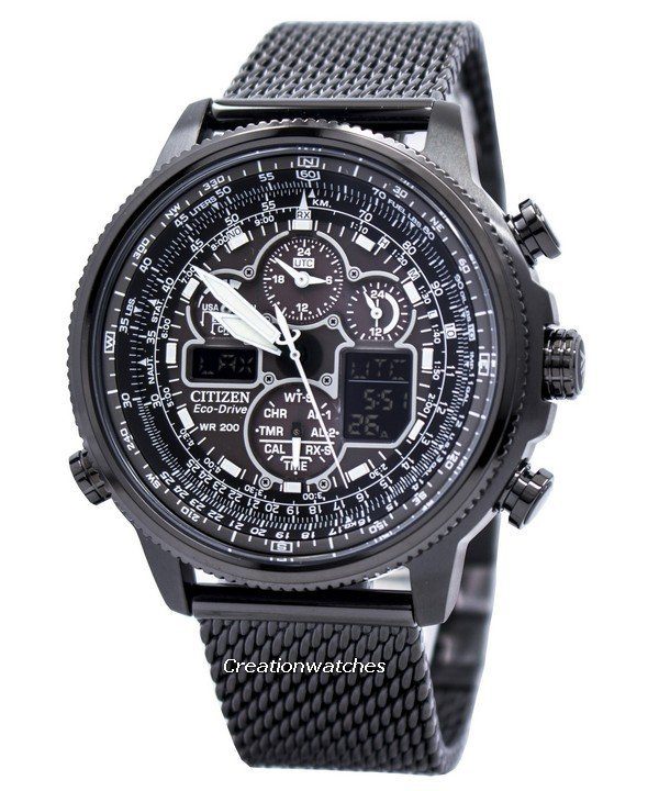 Citizen Navihawk A-T Eco-Drive Chronograph JY8037-50E Men's Wat