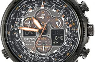 Amazon.com: Citizen Men's Eco-Drive Navihawk Atomic Timekeeping .