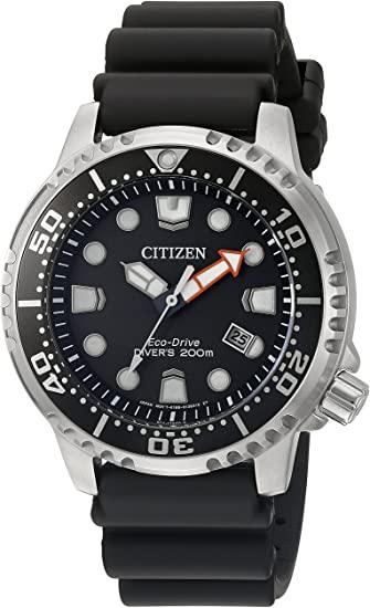 Amazon.com: Citizen Men's Promaster Diver Stainless Steel Eco .