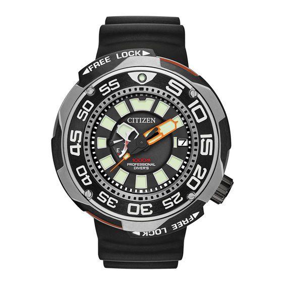 Men's Citizen Eco-Drive® Promaster Diver Super Titanium™ Strap .