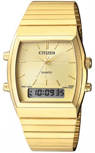 Citizen JM0542-56P Quartz Ana-Digi Chronograph Alarm Watch .