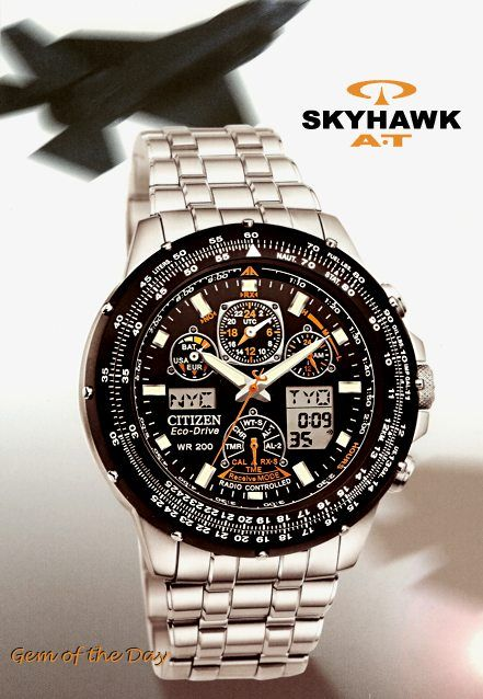 Citizen, Skyhawk AT Best watch ever!! And even better with 20% off .