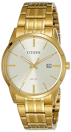 Buy Citizen Analog Gold Dial Men's Watch - BI5002-57P Online at .