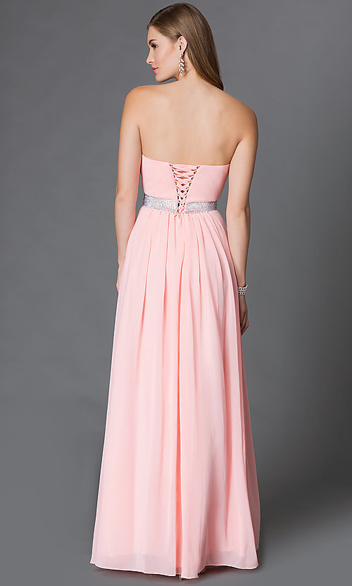 Long Sweetheart Corset-Back Prom Go