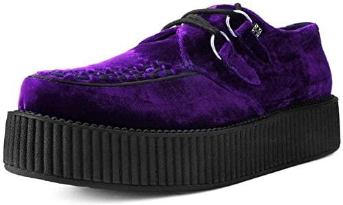 Amazon.com   T.U.K. Shoes V9490 Unisex-Adult Creepers, Violet .