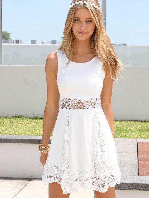 White Sundresses for Juniors – Fashion dress
