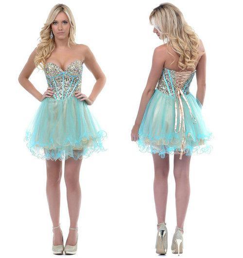 Debs Short Formal Dresses Tulle – Fashion dress