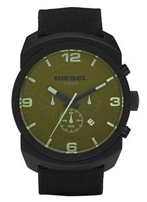 Save on Diesel Chronograph Olive Dial Men s watch DZ4194 - best .