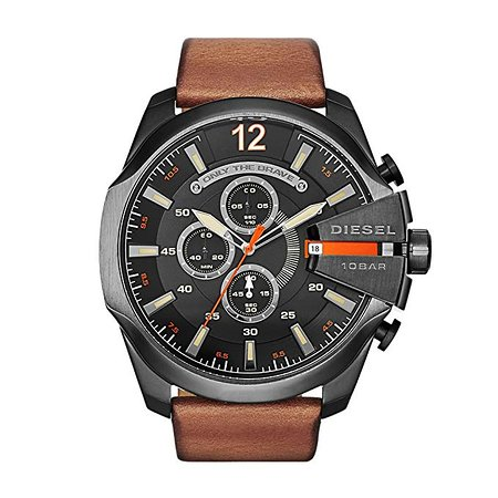 Diesel Mega Chief Men`s #Watch With #Chronograph , 2 Years .