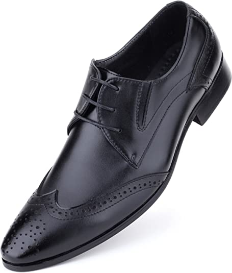 Amazon.com | Mens Oxford Shoes Formal Leather Mens Dress Shoes .