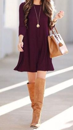 138 Best Fall Dresses images | Dresses, Fashion, Outfi