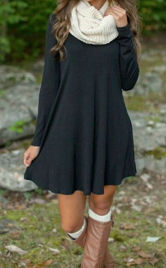 30 Cute And Cheap Fall Dresses - Society
