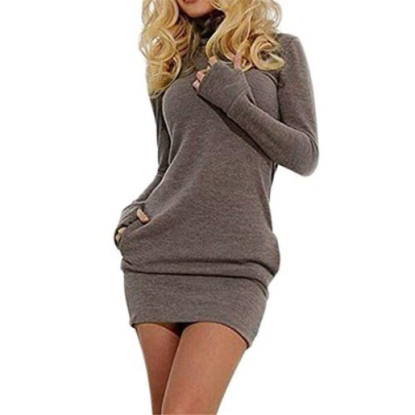 Women Dress,Haoricu Fall Sexy Women Bodycon Long Sleeve Pullover .