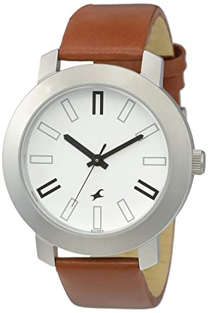 Fastrack Men's Casual Analog White Dial Watch: Amazon.co.uk: Watch