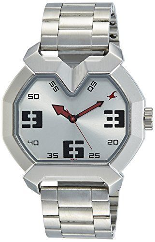 Fastrack 3129SM01 Analog Silver Dial Men's watch | Watches for men .