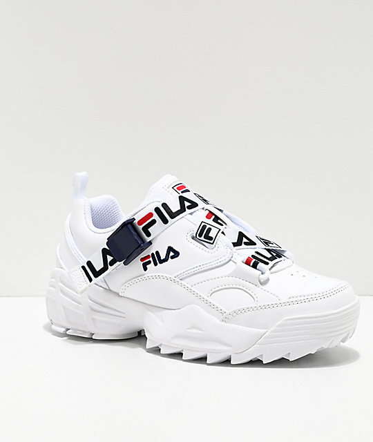 FILA Fast Charge White Shoes | Zumi