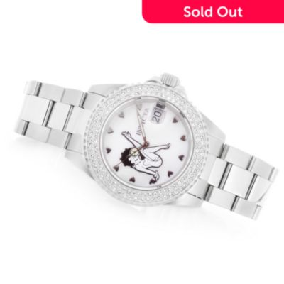 Invicta Women's Betty Boop Angel Twinkle Limited Edition Quartz .