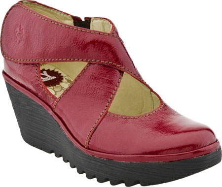 Red Boots Fly London Shoes Yogo Patent Canada,Fly London Women .