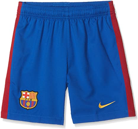 Amazon.com: NIKE Barcelona Home KIDS Shorts 2016/2017: Clothi
