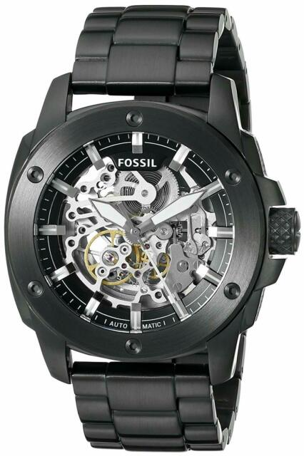 BRAND NEW FOSSIL MACHINE AUTOMATIC ME3080 MENS MODERN SKELETON .