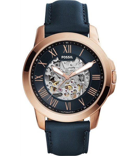 Fossil Mens Rose Gold ME3102 Watch - WatchCo.c