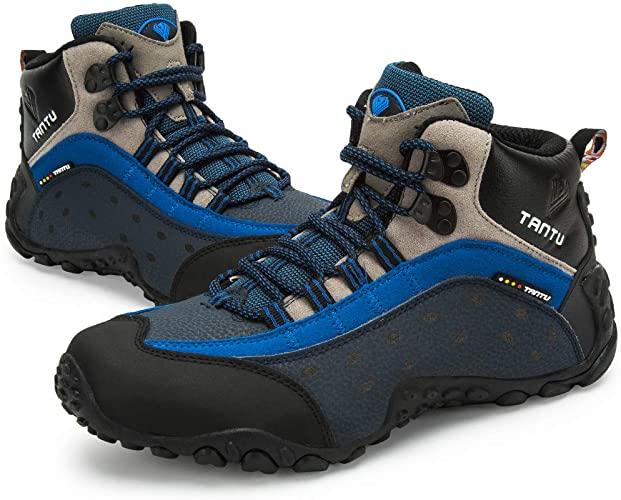 Amazon.com   TANTU Men's Hiking Boots Waterproof High Top Winter .