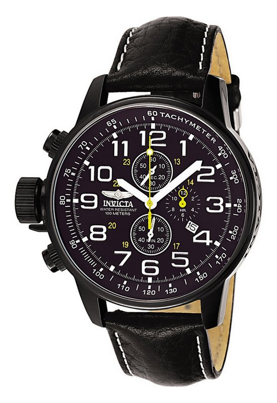 Invicta Force Lefty Chronograph Watch | Watch Revi