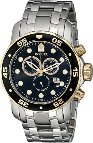 Amazon.com: Invicta Mens Pro Diver Scuba Swiss Chronograph Black .