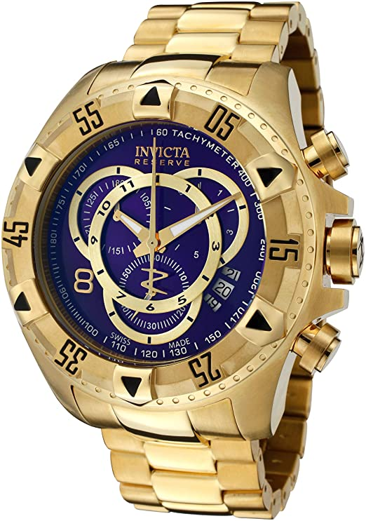Amazon.com: Invicta Men's Excursion Quartz Stainless-Steel Strap .