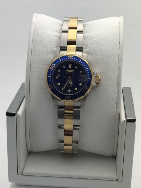 Invicta Pro Diver Women's 25mm Gold Plated Stainless Steel Quartz .