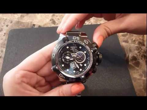 Invicta Subaqua Noma IV Watch review - YouTu