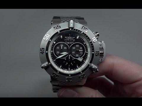Invicta SubAqua Noma III Chronograph Men's Watch Model: 5511 - YouTu