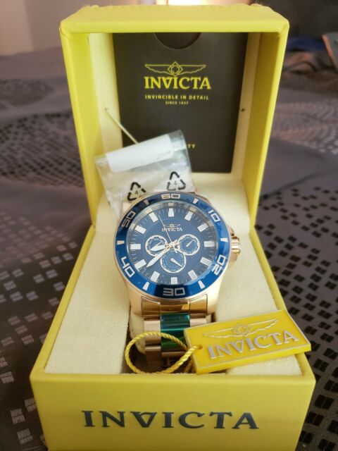 Invicta Watch 5878 Water Resistant 100mm Hard to Find Model for .