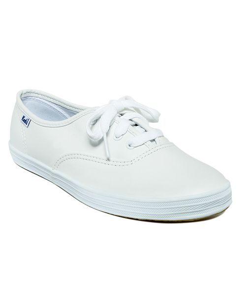 Keds Women's Champion Leather Oxford Sneakers & Reviews - Athletic .