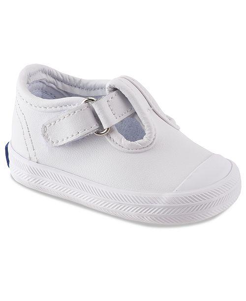 Keds Champion Toe-Cap T-Strap Shoes, Baby Girls & Toddler Girls .
