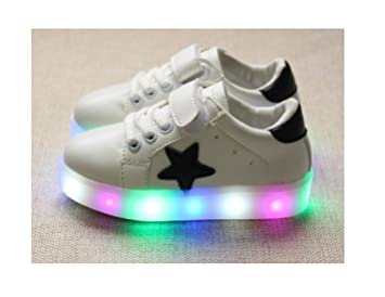 Amazon.com: Children Shoes LED Light Kids Shoes with light Baby .