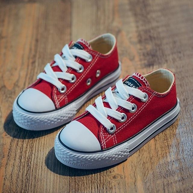 2018 Canvas Children Shoes Sport Breathable Boys Sneakers Brand .