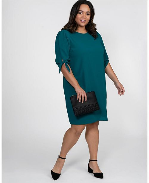 Kiyonna Women's Plus Size Manhattan Shift Dress & Reviews .