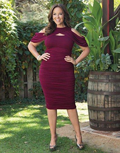 Kiyonna Women's Plus Size Bianca Ruched Dre