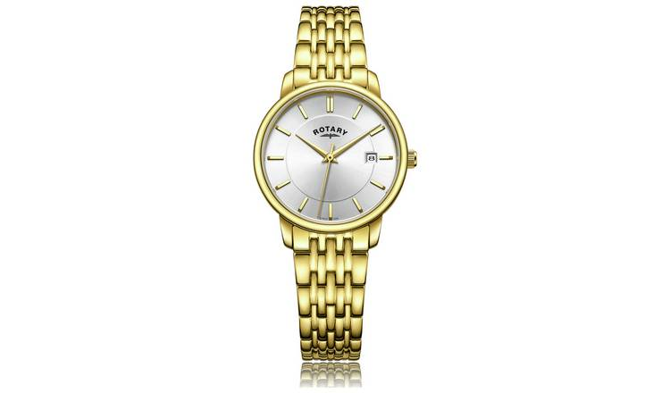 Buy Rotary Ladies' Gold Plated Bracelet Watch | Womens watches .