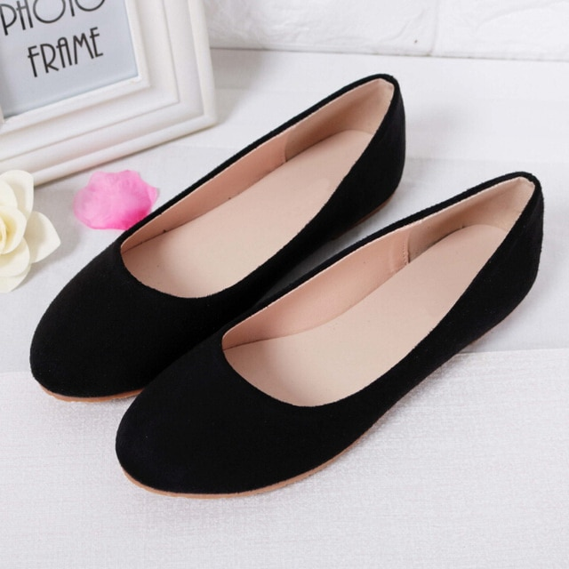 Ballet Flats Spring Summer Ladies Shoes Women Flat Shoes Woman .