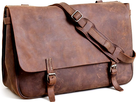 J. Crew Artisan Leather Messenger Bag   GearCultu