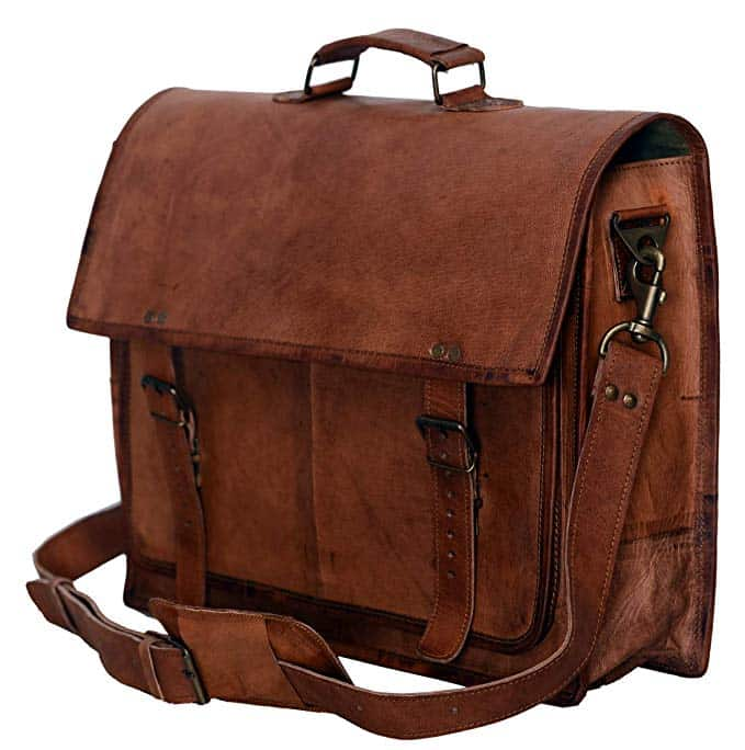11 Best Men's Leather Messenger Bags That Are Just Gorgeo