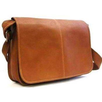 Men's Leather Messenger Bag   LoveToKn