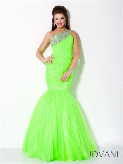 Jovani Prom Dresses Latest 2020 Styles | Lime green prom dresses .