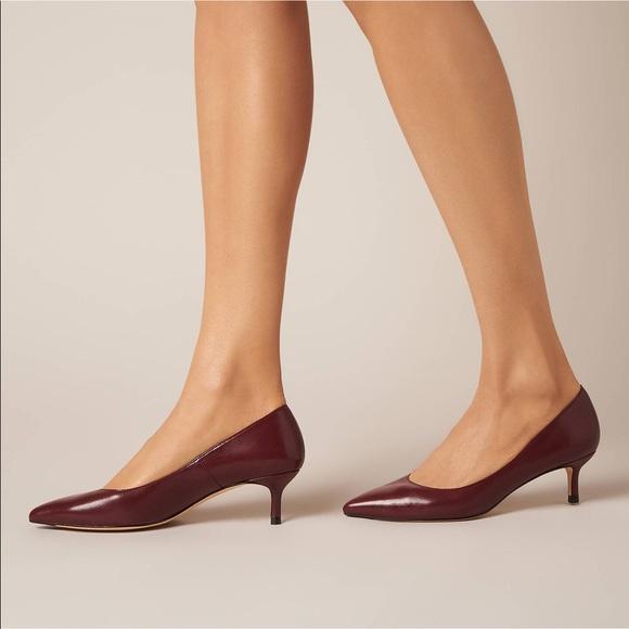 LK Bennett Shoes   Audrey Kitten Heel Pumps   Poshma