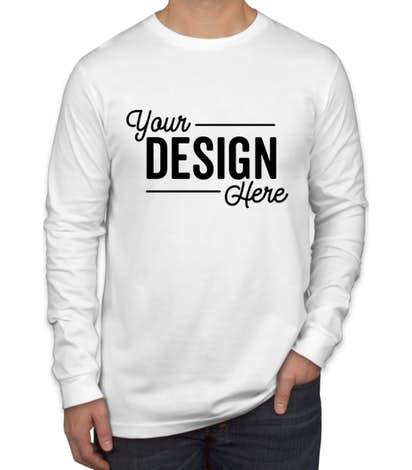 Custom Canada - Bella + Canvas Long Sleeve Jersey T-shirt - Design .